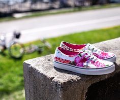 Postaw na kwiaty! #Vans #Sizeer #flowers #summer #sneakerOn