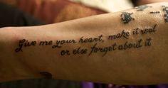 Luke Bryan Lyrics Tattoos Santana lyric tattoo by Lyric Tattoos, Tattoo Quotes, Luke Bryan Lyrics, Give It To Me, Lettering Tattoo, Inspiration Tattoos, Quote Tattoos