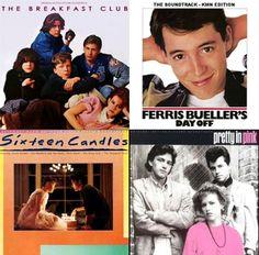 I love 80's movies. Especially by John Hughes!
