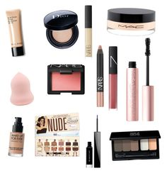 """Untitled #2"" by wanadimitri on Polyvore featuring beauty, MAKE UP FOR EVER, Christian Dior, MAC Cosmetics, Too Faced Cosmetics, NARS Cosmetics and Givenchy"