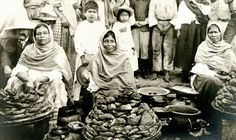 Vendedoras de camote siglo XIX