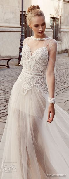 Wedding Dress by Miriams Bride 2018 Collection