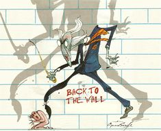 From Pink Floyd's The Wall Gerald Scarfe