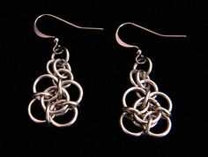 Stainless Steel Chainmaille Earrings