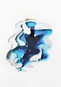 colour gradient piece by angela