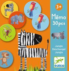 Djeco Memo Ζώα της Ζούγκλας