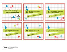 Free Printable Lunchbox Jokes