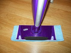 Sew Sweetcake: How To Make Reusable Swiffer Wet Jet Pads and a Cleaning Solution Recipe.
