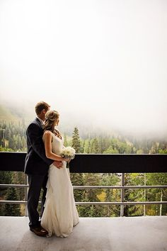 first look | Snowbird Utah Wedding Logan Walker Photography