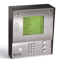DoorKing 1837     Ideal telephone entry and access control system suited for medium to large apartment and gated community applications as well as office buildings and industrial sites