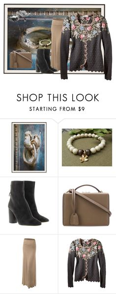 """""""Romantic Autumn"""" by bonartsstudio ❤ liked on Polyvore featuring Étoile Isabel Marant, Mark Cross and LE3NO"""