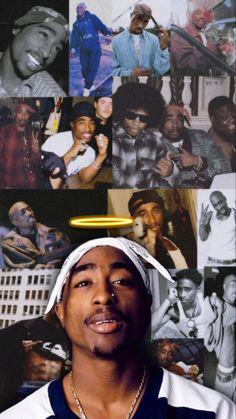2pac Wallpaper, Rapper Wallpaper Iphone, Bad Girl Wallpaper, Iphone Wallpaper Tumblr Aesthetic, Black Aesthetic Wallpaper, Cover Wallpaper, Tupac Photos, Tupac Pictures, Arte Do Hip Hop