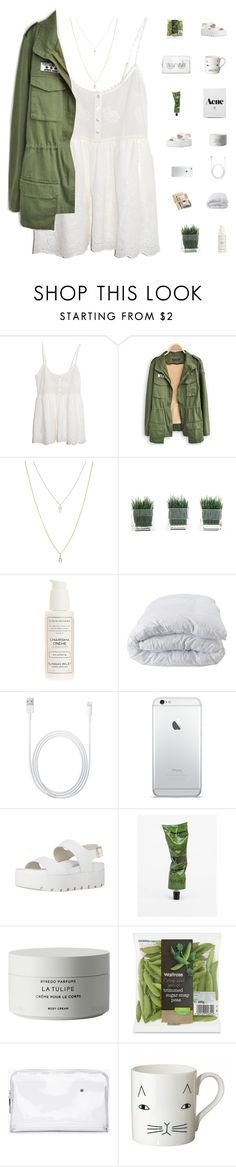 """Replay"" by rbalogun ❤ liked on Polyvore featuring Spell & the Gypsy Collective, ASOS, Sunday Riley, Soft-Tex, Aesop, Byredo, 3.1 Phillip Lim, white, fashionset and stylized"
