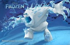 how to make costume for big marshmallow snow monster in movie frozen | Marshmallow