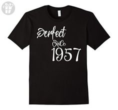 Mens Happy 1957 It's My 60th Birthday Gift Ideas t shirt XL Black - Birthday shirts (*Amazon Partner-Link)