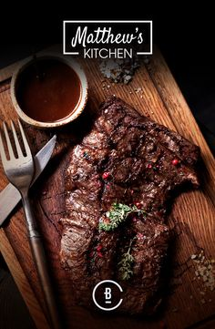 Chuck Steak with Chilli and Garlic