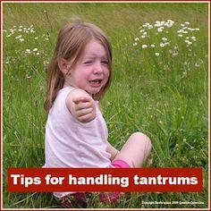 Tips for handling tantrums