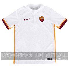 Venta de Jersey visitante para uniforme del as Roma 2015-16