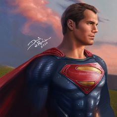 Kal-El, Son Of Krypton (The Art Of Superman) — Superman Henry Cavill and the DC Multiverse by Daniel de Almeida e Silva. Superman Drawing, Superman Man Of Steel, Batman Vs Superman, Superman Stuff, Kalel Superman, Justice League, Superman Henry Cavill, Giant Monster Movies, Hq Dc