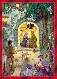 "awesome Peaceful Nativity Christmas Cards - Set of 15 -Set of 15 Christmas Cards / 16 Envelopes Deluxe Gold Foil Lined Envelopes Cards Measure 4 1/2""x6 1/4"" Folded -http://weddingdressesusa.com/product/peaceful-nativity-christmas-cards-set-of-15/"