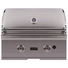 Coyote C-Series 28-Inch Built-In Natural Gas Grill available at BBQ Guys. Merging durable design with professional-style grilling...