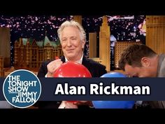 """Alan Rickman: """"Harry Potter"""" After Inhaling Helium on 'Tonight Show' - Hollywood Reporter - The Hollywood Reporter"""