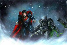 Batman vs Superman Anthony Darr