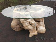 Luxusný konferenčný stolík zo samorastu - 1