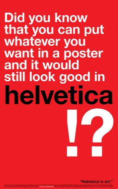 All About Helvetica Font