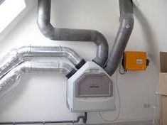 Warmteterugwinning uit ventilatielucht Property Development, Heat Pump, Heating And Cooling, Energy Efficiency, Save Energy, Sustainability, New Homes, Home Appliances, Construction