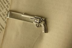 Silver Bang Bang Tie Clip by iadornu on Etsy, $30.00