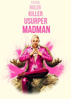 Pagan Min, Far Cry 4 #FarCry4 #PS4 http://www.rechargegaming.com/far-cry-4/