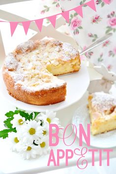 Kessy's Pink Sugar: Münsterländer Apfelkuchen