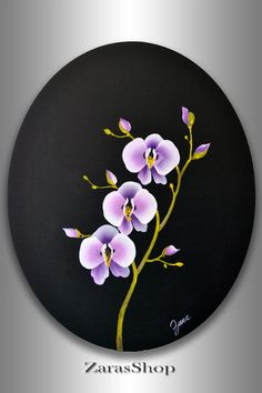 Canvas painting on pinterest acrylic paintings canvas for Acrylic painting on black background
