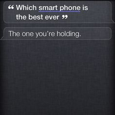 Siri on an iPhone 4s!