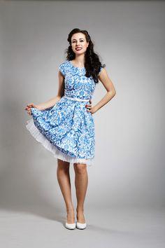 Porcelánky - retro šaty   Zboží prodejce JaneBond 5d37df47e5