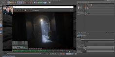 Cinema 4D Octane Render 3 - Volumetric Lighting