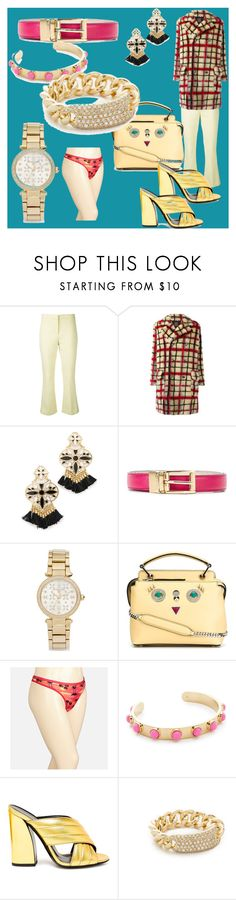 """""""fashion for your choice"""" by denisee-denisee ❤ liked on Polyvore featuring Theory, Jean-Paul Gaultier, Kate Spade, Dolce&Gabbana, Michael Kors, Fendi, Avenue, Gucci, Shay and vintage"""