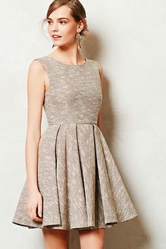 [Shimmered Tweed Dress by Anthropologie]