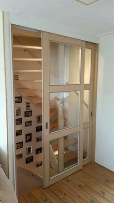 Schuifdeuren op maat voor trap