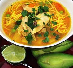 Chicken Noodle Soup (Sopa de Pollo Y Pasta)