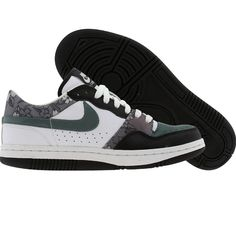 free shipping 44d15 314e7 Nike Womens Court Force Low (white  hasta  black) 315112-132 -