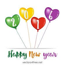 happy new year 2016 vector - Google Search