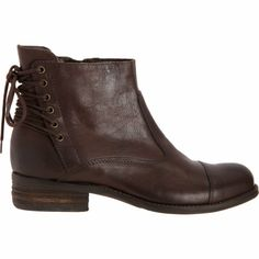 Barneys New York Back Lace-Up Ankle Boot $200