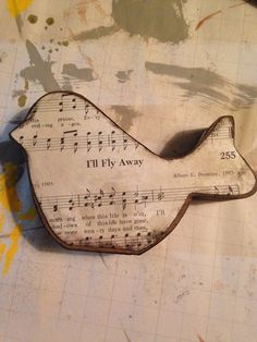 Wood Hymnal Birdie Custom Selection MADE TO ORDER by BeingReMade