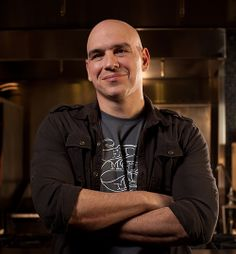 My fave Iron Chef -- Michael Simon. Love the guy and want to eat everything he makes!
