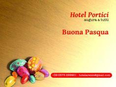 La cartolina di auguri di Pasqua 2013 dall'Hotel I Portici di Arezzo