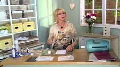 Crafting My Style With Sue Wilson - Double Technique Background For Crea...