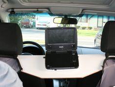 sparklinbecks diy car dvd player holder