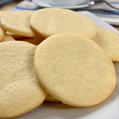 Sugar Cookie Recipe Easy, Easy Cookie Recipes, Mexican Food Recipes, Sweet Recipes, Baking Recipes, Dessert Recipes, Delicious Desserts, Yummy Food, Deli Food
